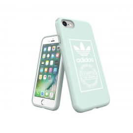 【取扱終了製品】adidas Originals TPU Hard Cover iPhone 8 Ash Green
