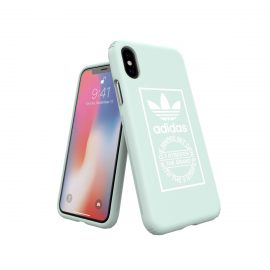 【取扱終了製品】adidas Originals TPU Hard Cover iPhone X Ash Green