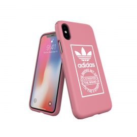 【取扱終了製品】adidas Originals TPU Hard Cover iPhone X Ash Pink