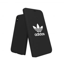 【取扱終了製品】adidas Originals adicolor Booklet Case iPhone X Black