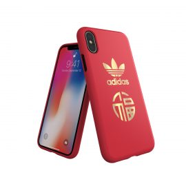 adidas Originals CNY Snap case iPhone X Scarlet