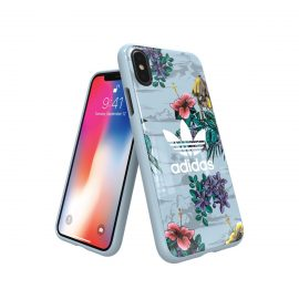 【取扱終了製品】adidas Originals Floral Snap case iPhone X Ash Grey