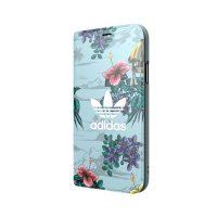 【取扱終了製品】adidas Originals Floral Booklet case iPhone X Ash Grey