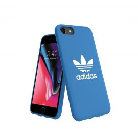 adidas Originals TPU Moulded Case BASIC iPhone 8 Bluebird/White