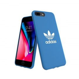 adidas Originals TPU Moulded Case BASIC iPhone 8 Plus Bluebird/White