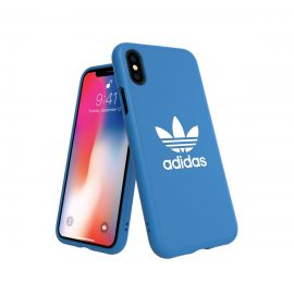 【取扱終了製品】adidas Originals TPU Moulded Case BASIC iPhone X Bluebird/White