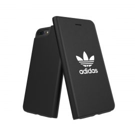 adidas Originals TPU Booklet Case BASIC iPhone 8 Plus Black/White
