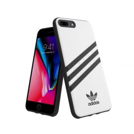 adidas Originals Moulded Case SAMBA iPhone 8 Plus White/Black