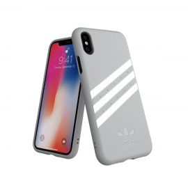 adidas Originals Moulded Case GAZELLE iPhone X Grey