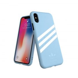 【取扱終了製品】adidas Originals Moulded Case GAZELLE iPhone X Blue