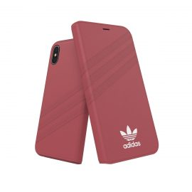 【取扱終了製品】adidas Originals Booklet Case GAZELLE iPhone XS Pink
