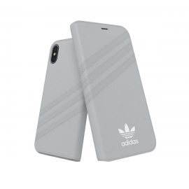 adidas Originals Booklet Case GAZELLE iPhone X Grey