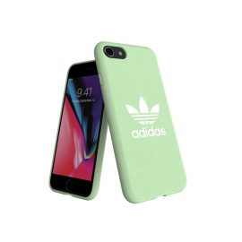 【取扱終了製品】adidas Originals adicolor Moulded Case iPhone 8 Clear Mint