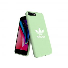 【取扱終了製品】adidas Originals adicolor Moulded Case iPhone 8 Plus Clear Mint