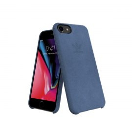 【取扱終了製品】adidas Originals Slim Case ULTRASUEDE Case iPhone 8 Blue