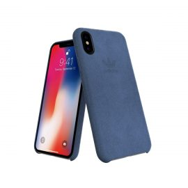 adidas Originals Slim Case ULTRASUEDE Case iPhone X Blue