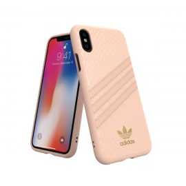 【取扱終了製品】adidas Originals Moulded Case SAMBA WOMAN iPhone X Pink