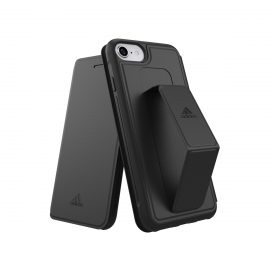 【取扱終了製品】adidas Performance Folio Grip Case FW18 iPhone 8 black