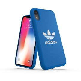 【取扱終了製品】adidas Originals TPU Moulded Case BASIC iPhone XR Bluebird/White
