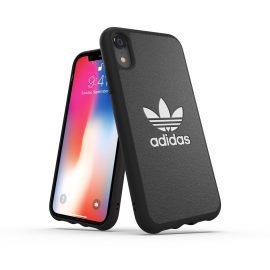 【取扱終了製品】adidas Originals TPU Moulded Case BASIC iPhone XR Black/White