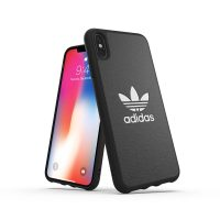 【取扱終了製品】adidas Originals TPU Moulded Case BASIC iPhone XS Max Black/White