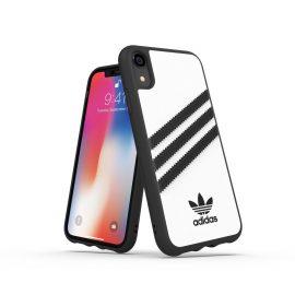 【取扱終了製品】adidas Originals Moulded Case SAMBA iPhone XR White/Black