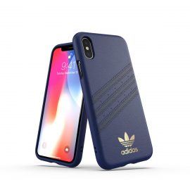 【取扱終了製品】adidas Originals Moulded Case SAMBA iPhone XS Blue