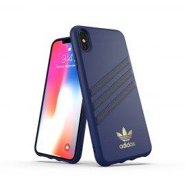 【取扱終了製品】adidas Originals Moulded Case SAMBA iPhone XS Max Blue