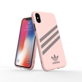 【取扱終了製品】adidas Originals Moulded Case SAMBA iPhone XS Pink/Grey