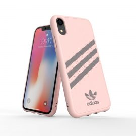 adidas Originals Moulded Case SAMBA iPhone XR Pink/Grey