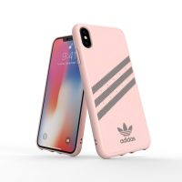 adidas Originals Moulded Case SAMBA iPhone XS Max Pink/Grey