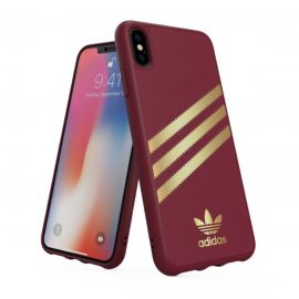 【取扱終了製品】adidas Originals Moulded Case SAMBA iPhone XS Max Burgandy