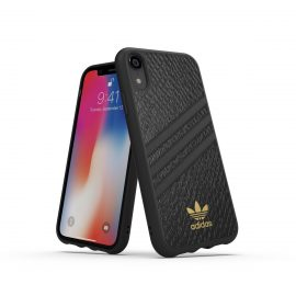 【取扱終了製品】adidas Originals Moulded Case SAMBA WOMAN iPhone XR Black
