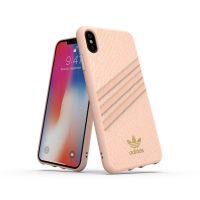 【取扱終了製品】adidas Originals Moulded Case SAMBA WOMAN iPhone XS Max Pink