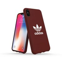 adidas Originals adicolor Moulded Case iPhone XS Max Maroon