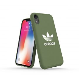 【取扱終了製品】adidas Originals adicolor Moulded Case iPhone XR Trace Green