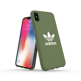【取扱終了製品】adidas Originals adicolor Moulded Case iPhone XS Max Trace Green