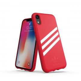 【取扱終了製品】adidas Originals Moulded case iPhone XR Royal Red/White