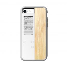 OAXIS InkCase IVY for iPhone 7 Wood White