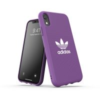 【取扱終了製品】adidas Originals Moulded Case CANVAS SS19 iPhone XR Purple