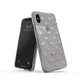 adidas Originals Clear Case SS19 iPhone XS Gold