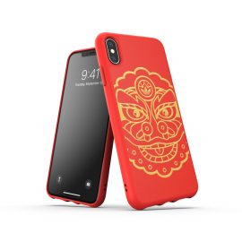 【取扱終了製品】adidas Originals Moulded Case CNY SS19 iPhone XS Red