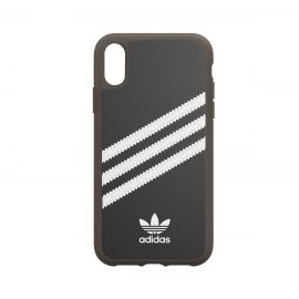[au+1 Collection Select] adidas Originals SAMBA GUM Moulded case for iPhone XR black/white
