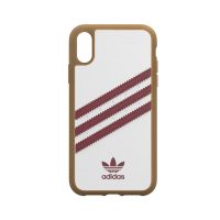 77237e7489 ... [au+1 Collection Select] adidas Originals SAMBA OG Moulded Case for  iPhone XR white/red ...