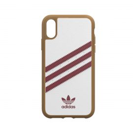 [au+1 Collection Select] adidas Originals SAMBA OG Moulded Case for iPhone XR white/red