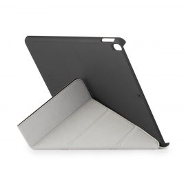 [au+1 Collection Select] PIPETTO iPad Air 3rd (2019) Origami Case Black