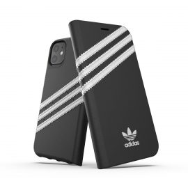 adidas Originals  Booklet Case SAMBA FW19 iPhone 11 BK/WH