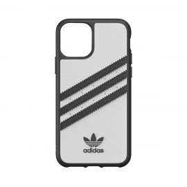 [au+1 Collection Select] adidas Originals SAMBA Case for iPhone 11 Pro WH/BK
