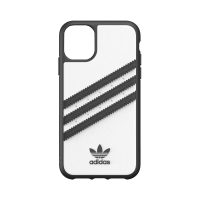 [au+1 Collection Select] adidas Originals SAMBA Case for iPhone 11 WH/BK