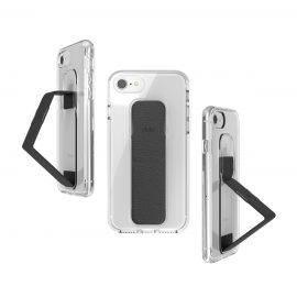 clckr CLEAR GRIPCASE FOUNDATION iPhone 8 Clear/Black